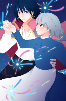 Howl's Moving Castle by BottleWonderland