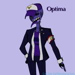 Optima - Swapfell OC by Calibriatheskeleton