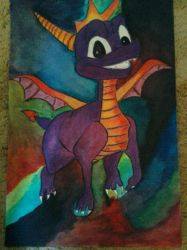 spyro the dragon by stacylyn