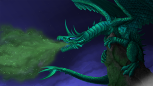 Emerald Dragon by VaultScout
