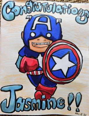 Captain America Card by evangeline40003