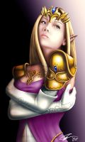 Princess Zelda by EvilFlesh