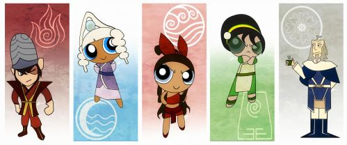 The Avatar Girls by dropeverythingnow