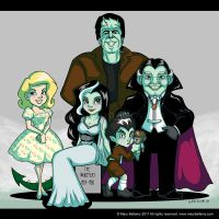 Commission The Munsters by MaryBellamy