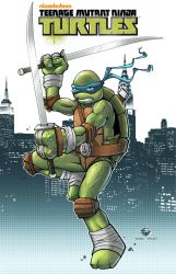 TMNT Leonardo by Carl-Riley-Art