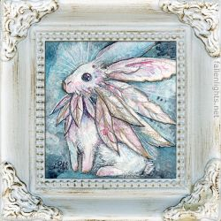 The Fabulous White Rabbit by shadowgirl