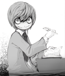 Yagami write... by MaGLIL