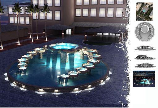 Fountain Concept by Orinn