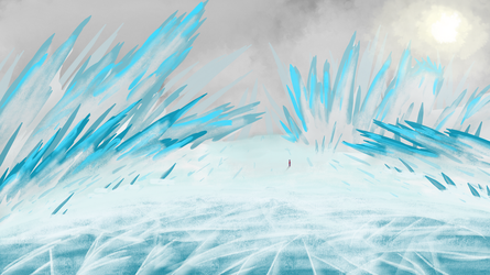 Ice spikes by BioluminescentBob