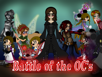 Battle of the OC's (with sign) by NoxidamXV