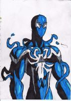 Cool Symbiote Spidey by ChahlesXavier