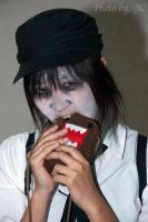 Domo oh no not a zombie attack by KawaiiKonPhotos
