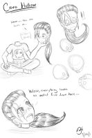 Crane Hollow sketch dump 3 by MinionKing