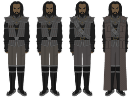 Klingon Defence Forces - Warriors - Circa 2370s by JoeyLock