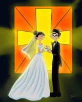Rhonda and Curly Wedding by Rei-Hikaru