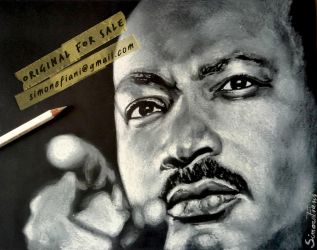 Martin Luther King by SoulShapedFace