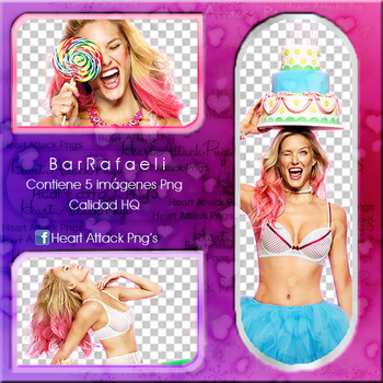 +Pack Png- Bar Rafaeli by mytattoedheart