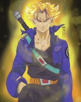 Trunks DBZ by AM-Nyeht