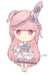 [ADOPTS] Sylveon Gijinka - CLOSED - +EXTRAS! by Kaoyi