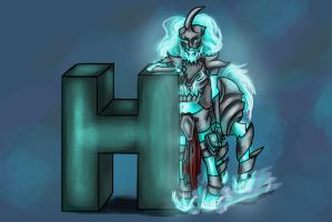 League of Legends - Female Hecarim - H by Anspire