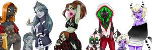 New Ghouls by egoetrexmeus