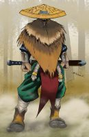 Forest Warrior in Color by blaquejag