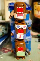 Stacked up Domo Doctors! by PiliBilli