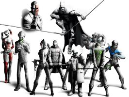 Batman Arkham City by Spiderdude10