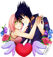 SasuSaku by Wosda