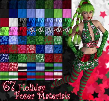 Holiday Poser Materials by parrotdolphin