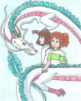 Haku the Dragon by Goldenjellybean