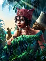 Heavenly Sword : Kai by Philiera