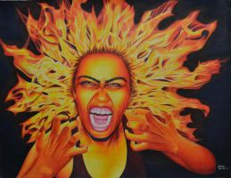 Burning with Rage by MysticTruth