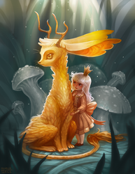 The Royal Jackalope by tinypaint