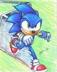 Sonic...Fast and Furious by jtwilber1