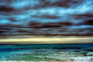 Where the Sky merges.. by Brompled