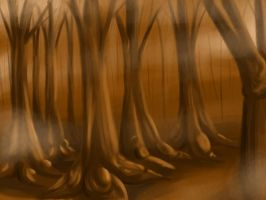 Brown Forest by Butterscotch25