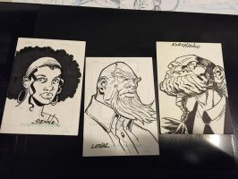 Some more sketchcards by ShawnAtkinson