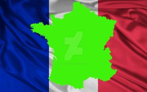 Green Screen France Flag by silviubacky