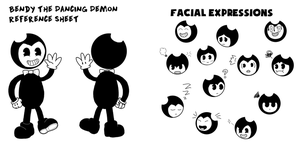 Bendy reference sheet by RichardtheDarkBoy29