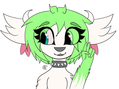 Commission For KIttyCatShaymin by AprilTheFurry