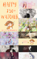 [ SHARE PSD ] HAPPY 230+WATCHER by Yuucucheoo2k2