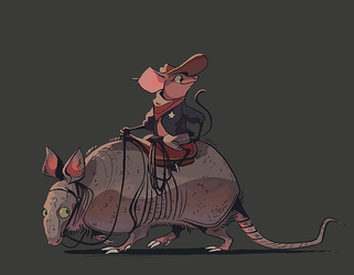 tiny sheriff by scrii