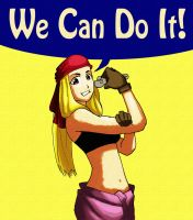 Winry the Riveter by RickyBryantJr