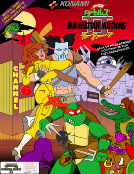 TMNT Manhattan Missions II: The Revenge by oldmanwinters