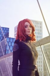 Avengers Black Widow Cosplay by WhiteSpringPro