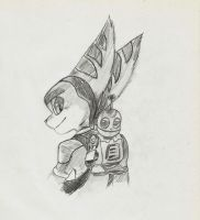 ratchet and clank by Llior