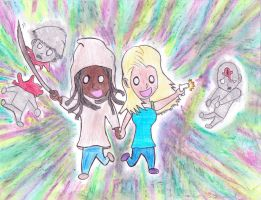 Best Friends Forever! Andrea and Michonne by Junjou-DeathNote