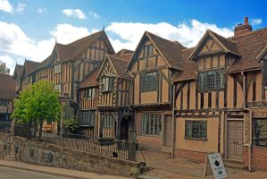 Lord Leycester Hospital, Warwick by Irondoors