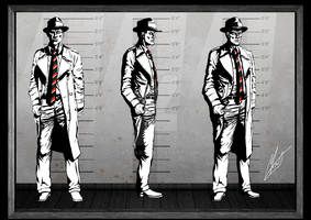 Reimagination - RRH's Detective Model Sheet by SaTTaR